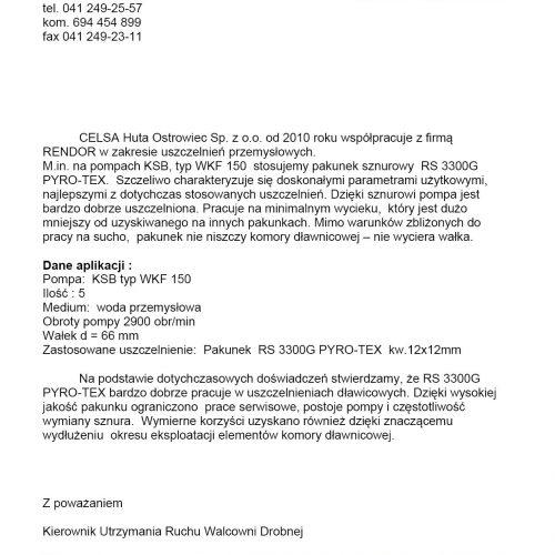 RS 3300G PYRO-TEX Celsa  www