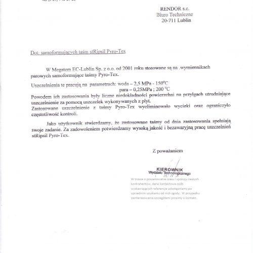 RT GP PYRO-TEX Megatem