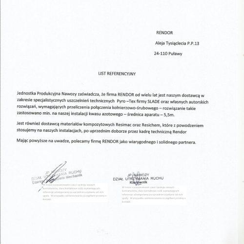 RT GP Pyro-TEX  Kedzierzyn