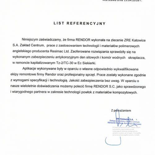 ZRE Katowice Kondensator Skraplacz EC Siekierki