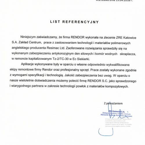 ZRE Katowice Skraplacz Zakład Centrum_