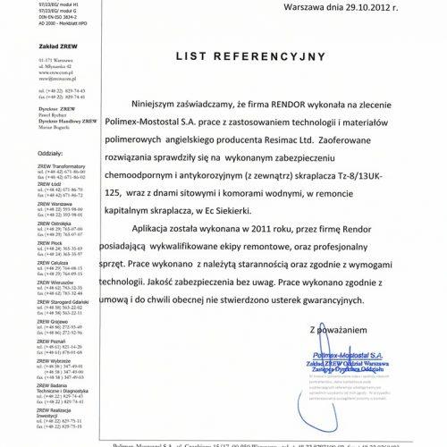 Zabezpieczenie Kondensatora Skraplacz Polimex Warszawa