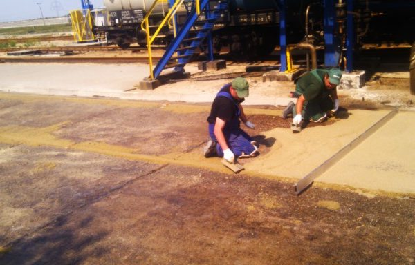 odbudowa betonu