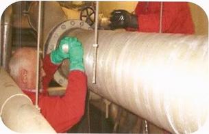 System wzmacniania i uszczelniania rurociągów