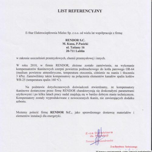 Kompensatory referencje Rodo